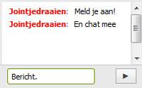 Meld je aan voor de Chatbox!